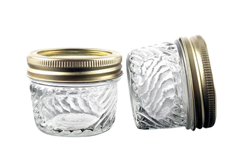 10 Oz Kitchen Wide Mouth Glass Jars / Wide Mouth Mason Jars Simple Sytle