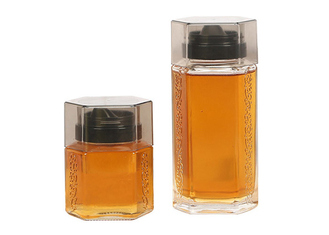 Thickened Glass Honey Jars Sealed Can Carved Honey Bottling Lead Free
