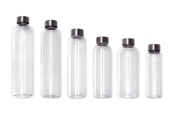 Reusable 250ml Unbreakable Glass Water Bottle Eco - Friendly For Hot Water